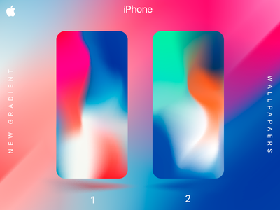 IPhone Gradient Wallpapers By Achiva