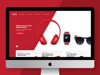 (RED) Homepage Redesign
