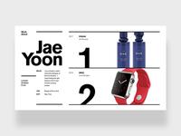 Swiss Redesign of my Portfolio