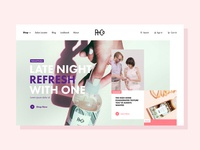 R&Co Homepage Redesign