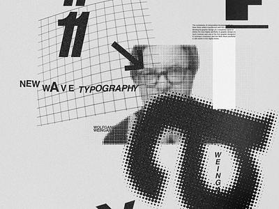 Weingart poster new wave poster art poster design weingart poster