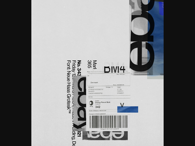 Poster 343 design analog
