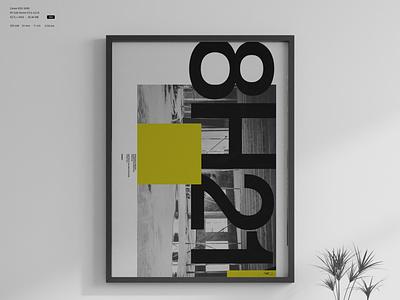 LV8H21V POSTER swiss poster design poster