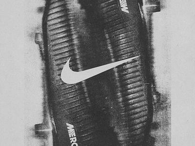 Nike inspired design poster swoosh nike