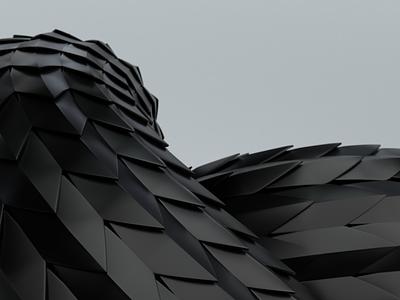 Shapes twisted blender3d 3d art shapes blender 3d