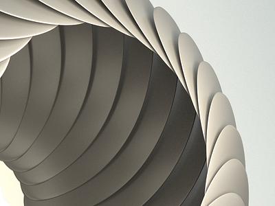 Modern form architecture 3ddesign blender 3d vector color branding design