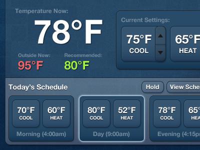 Thermostat v3 left