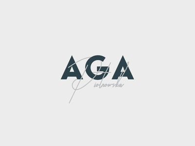 Logo typography minimal logo design
