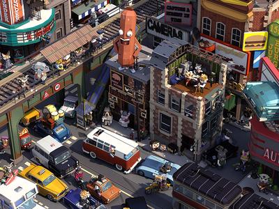 Downtown Life