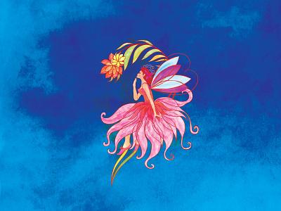Fairy tale illustration fairy fairy tale character design digitalart artistic artistic watercolor digital painting digital art illustration art vector vintage design classic hand drawn watercolor illustrator illustration