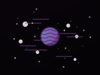 Space squiggles