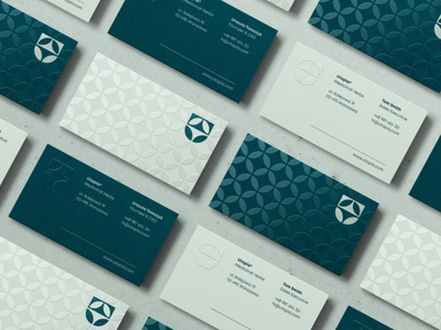 UTOPIA® / Medicinal Herbs print card business businesscards brand mark graphicdesign graphic identity branding logodesigner designer design logodesign logo