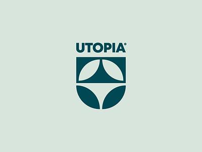 UTOPIA® / Medicinal Herbs icon illustration app graphic mark brand branding herbs medicinal logodesigner designer logodesign design logo utopia