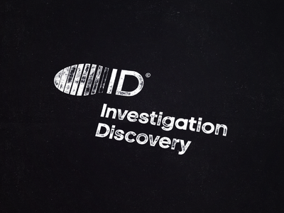 INVESTIGATION DISCOVERY / television channel 📺 television channel discover investigation tv brand icon logodesign identity mark logodesigner branding design designer logo