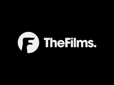 TheFilms. / logo design ✏ cinema hand film movie typography brand icon logodesign identity mark logodesigner branding design designer logo
