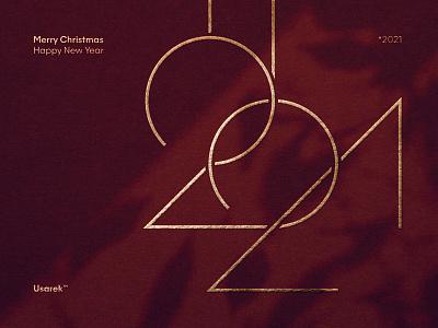 Merry Christmas and a Happy New Year! 🎄🎁 2021* xmas merrychristmas happy year new 2021 christmas typography brand logodesign logodesigner branding design designer logo