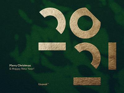 Merry Christmas and a Happy New Year! 🎄🎁 2021* shadow elegant new merrychristmas merry newyear christmas 2021 typography brand logodesign identity mark logodesigner branding design designer logo