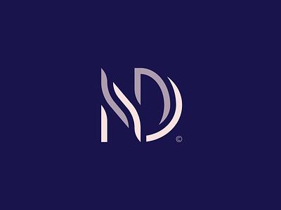 NOVA DAMA© / Permanent Cosmetics modern elegant monogram beauty cosmetics girl woman typography brand icon logodesign identity mark logodesigner branding design designer logo