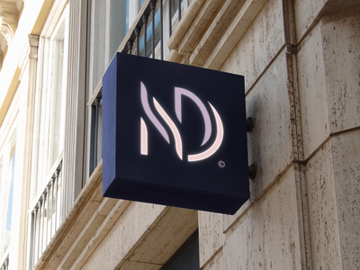 NOVA DAMA© / Permanent Cosmetics girl monogram lettermark modern luxury woman cosmetics typography brand icon logodesign identity mark logodesigner branding design designer logo