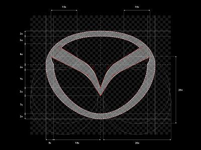 MAZDA Design 2019 / redesign logo 🚘 car guide construction redesign mazda automotive design cardesign automotive brand icon logodesign identity mark logodesigner branding design designer logo