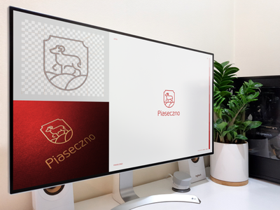 PIASECZNO / logo proposal (contest) app city crest shield graphic presentation animal aries brand icon logodesign identity mark logodesigner branding design designer logo