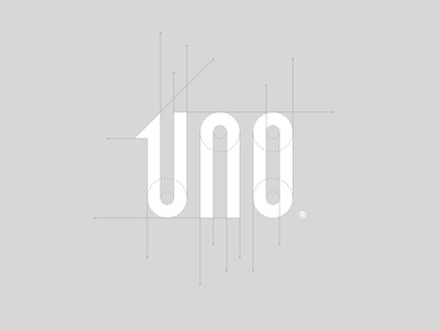 UNO / logotype ✏ graphic behance simple smart type studio logotype typography brand icon logodesign identity mark logodesigner branding design designer logo