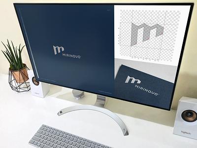 MIRINOVO / development development m graphic building roof developer architecture typography brand icon logodesign identity mark logodesigner branding design designer logo