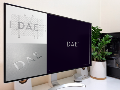 D A E © / luxury accessories brand modern minimalist graphicdesign graphic letters type luxury typography brand icon logodesign identity mark logodesigner branding design designer logo