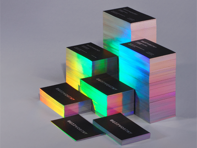 design business cards work in progress by marcin usarek dribbble - Holographic Business Cards