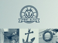 PORT ALFA / bar on the beach