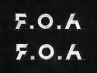 F.O.A / clothing brand