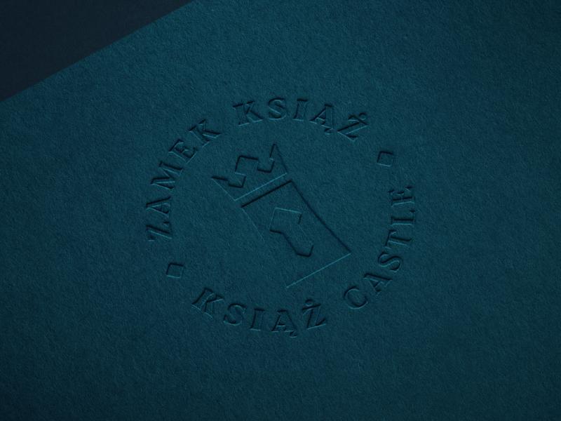 ZAMEK KSIĄŻ / KSIĄŻ CASTLE 🏰 elegant identity brand key crown castle redesign hire logodesigner designer logodesign design logo embossed print