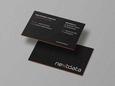 NEXTDATA / business cards