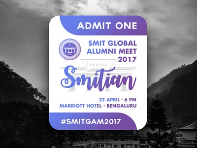 SMIT Global Alumni Meet Passes