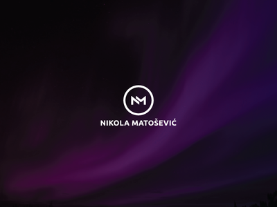 Nikola Matošević - NM monogram