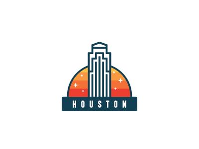 For hurricane Harvey victims in Houston help hurricane building landmark architecture houston badge icon skyscraper city america sticker