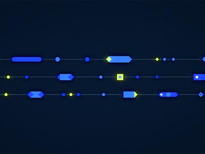 Scientific Datas explainer scienctific illustration motion flat design design flat after effects 2d motion design animation