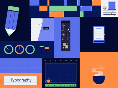 Creative Pattern pattern geometry creative adobe flat illustration motion shapes after effects 2d motion design animation