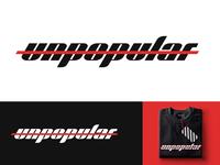 Unpopular - Logo Design