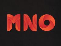 Alphabet Design - MNO