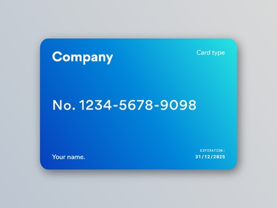 💳 Subscription Card. members member subscription subscribe system company company card card type card payment pay web design brief