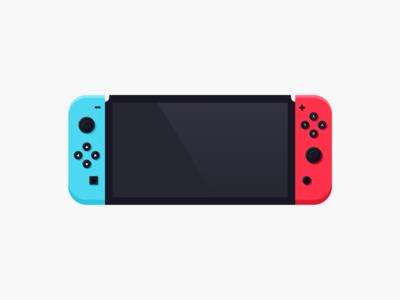 Nintendo Switch Illustration hello dribbble uidesign illustration ui nintendo switch switch nintendo