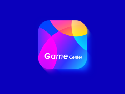 Game center-icon color mixed gradient wantline play ios apple gamecenter game icon