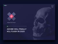 Adobe will finally kill Flash in 2020