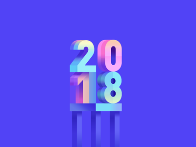 2018 illustration wantline untitled flat colorful clean blue
