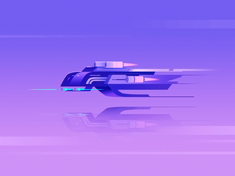 Spaceship wantline spaceship speed space illustration ship