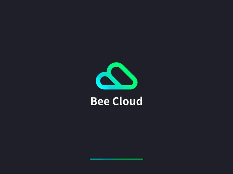 Asiainfo Bee Cloud-C2 cloud bee beecloud asiainfo branding wantline illustration logo icon