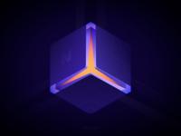 Glowing Cube