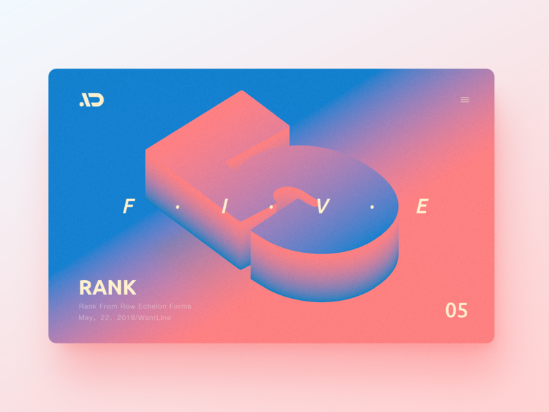 Rank-05 typography web ui illustration clean wantline flat