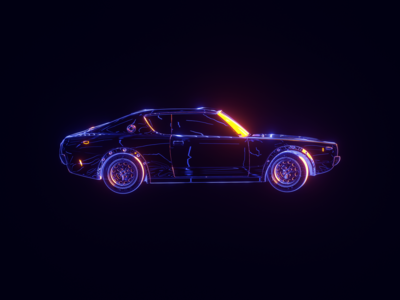Hologram-Car